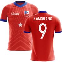 2018-2019 Chile Home Concept Football Shirt (ZAMORANO 9) - Kids