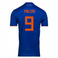 2018-2019 Colombia Away Adidas Football Shirt (Falcao 9)