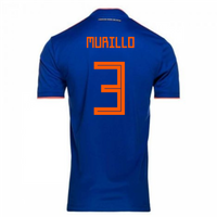 2018-2019 Colombia Away Adidas Football Shirt (Murillo 3)