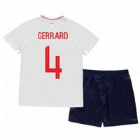 2018-2019 England Home Nike Baby Kit (Gerrard 4)