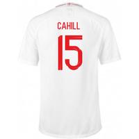 2018-2019 England Home Nike Football Shirt (Cahill 15) - Kids