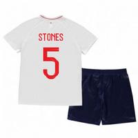 2018-2019 England Home Nike Mini Kit (Stones 5)