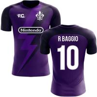 Image of 2020-2021 Fiorentina Fans Culture Home Concept Shirt (R Baggio 10)