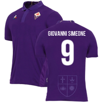 2018-2019 Fiorentina Home Football Shirt (Giovanni Simeone 9)