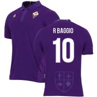 2018-2019 Fiorentina Home Football Shirt (r Baggio 10)
