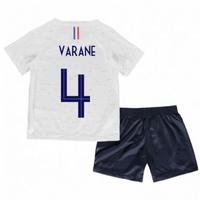 2018-2019 France Away Nike Baby Kit (Varane 4)
