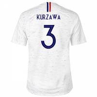 2018-2019 France Away Nike Football Shirt (Kurzawa 3) - Kids