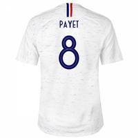 2018-2019 France Away Nike Football Shirt (Payet 8) - Kids