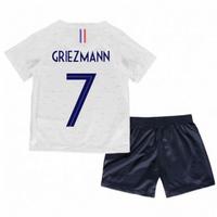 2018-2019 France Away Nike Little Boys Mini Kit (Griezmann 7)
