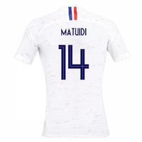 2018-2019 France Away Nike Womens Shirt (Matuidi 14)