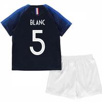 2018-2019 France Home Nike Baby Kit (Blanc 5)