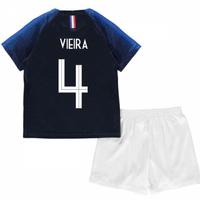 2018-2019 France Home Nike Baby Kit (Vieira 4)