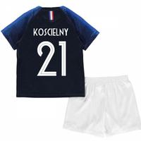 2018-2019 France Home Nike Mini Kit (Koscielny 21)
