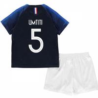 2018-2019 France Home Nike Mini Kit (Umtiti 5)