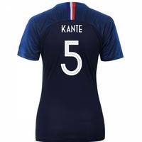 2018-2019 France Home Nike Womens Shirt (Kante 5)