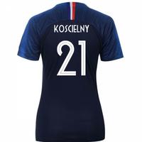 2018-2019 France Home Nike Womens Shirt (Koscielny 21)