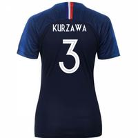 2018-2019 France Home Nike Womens Shirt (Kurzawa 3)