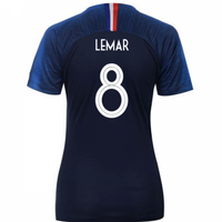 2018-2019 France Home Nike Womens Shirt (Lemar 8)