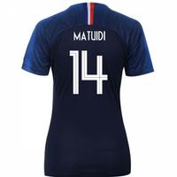 2018-2019 France Home Nike Womens Shirt (Matuidi 14)