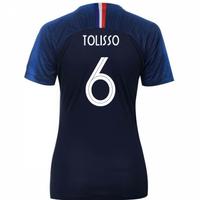 2018-2019 France Home Nike Womens Shirt (Tolisso 6)