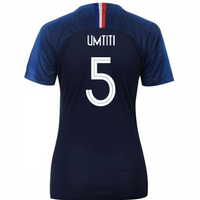 2018-2019 France Home Nike Womens Shirt (Umtiti 5)
