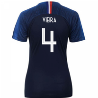 2018-2019 France Home Nike Womens Shirt (Vieira 4)