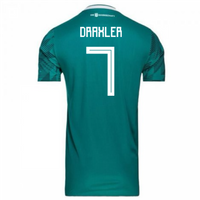 2018-2019 Germany Away Adidas Football Shirt (Draxler 7) - Kids