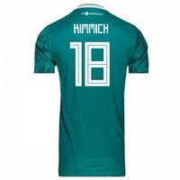 2018-2019 Germany Away Adidas Football Shirt (Kimmich 18)