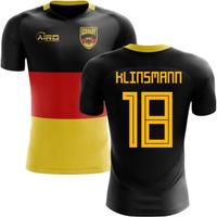 2018-2019 Germany Flag Concept Football Shirt (Klinsmann 18)