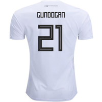 2018-2019 Germany Home Adidas Football Shirt (Gundogan 21) - Kids
