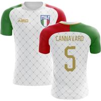 2018-2019 Italy Away Concept Football Shirt (Cannavaro 5)