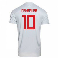 2018-2019 Japan Away Adidas Football Shirt (Nakamura 10) - Kids