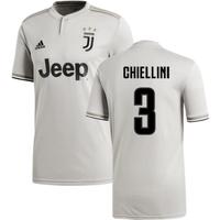2018-2019 Juventus Adidas Away Football Shirt (Chiellini 3)