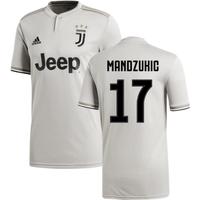 2018-2019 Juventus Adidas Away Football Shirt (Mandzukic 17)