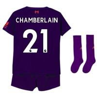 2018-2019 Liverpool Away Little Boys Mini Kit (Chamberlain 21)