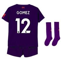 2018-2019 Liverpool Away Little Boys Mini Kit (Gomez 12)