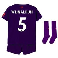 2018-2019 Liverpool Away Little Boys Mini Kit (Wijnaldum 5)