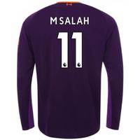2018-2019 Liverpool Away Long Sleeve Shirt (M Salah 11)