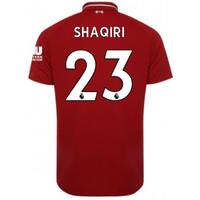 2018-2019 Liverpool Home Football Shirt (Shaqiri 23) - Kids
