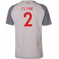 2018-2019 Liverpool Third Football Shirt (Clyne 2)