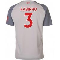 2018-2019 Liverpool Third Football Shirt (Fabinho 3)