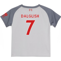 2018-2019 Liverpool Third Little Boys Mini Kit (Dalglish 7)