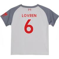 2018-2019 Liverpool Third Little Boys Mini Kit (Lovren 6)