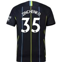 2018-2019 Man City Away Nike Football Shirt (Zinchenko 35)