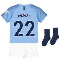 2018-2019 Man City Home Nike Baby Kit (Mendy 22)