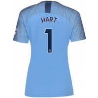 2018-2019 Man City Home Nike Ladies Shirt (Hart 1)