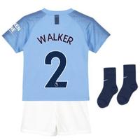 2018-2019 Man City Home Nike Little Boys Mini Kit (Walker 2)