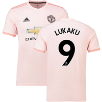 2018-2019 Man Utd Adidas Away Football Shirt (Lukaku 9)