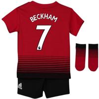 2018-2019 Man Utd Adidas Home Baby Kit (Beckham 7)