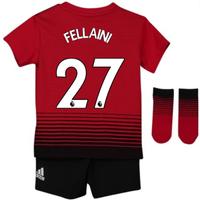 2018-2019 Man Utd Adidas Home Baby Kit (Fellaini 27)